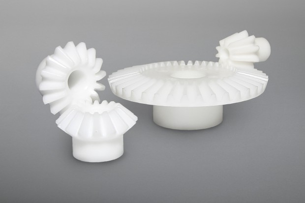 Moulded Bevel Gears i = 1:1 up to 1:4